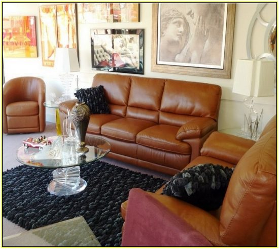 Cognac Leather Sofas Are Now On Trend For  Homes