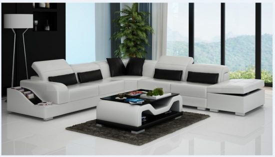2016 Leather reclining sofas mean the maximum elegance and comfort