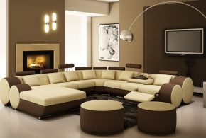 2018 Leather reclining sofas mean the maximum elegance and comfort