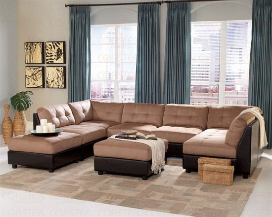 2016 Brown leather sofa; the luxury, comfort, and beauty