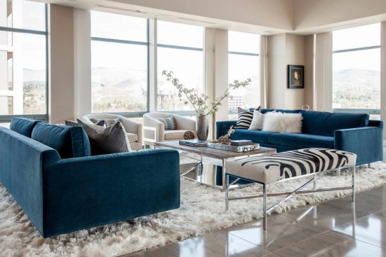 A breathtaking Italian sofa; The best statement in 2016 living area
