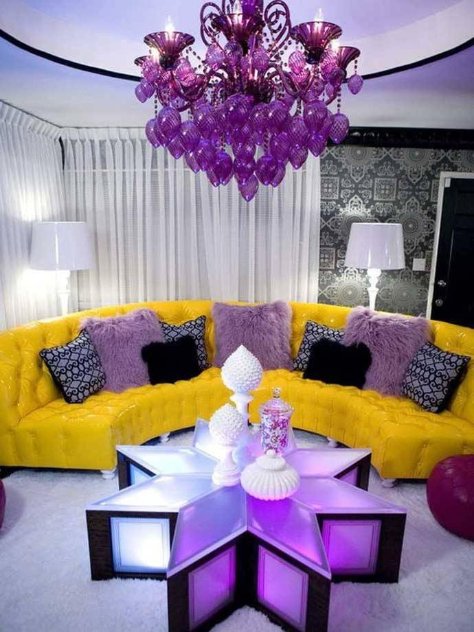 Brighten up your living room with 2018 stunning Yellow sofa