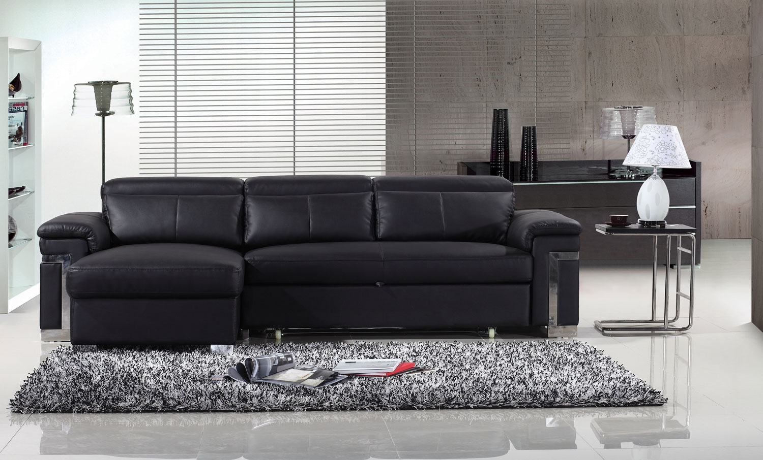 How to Clean Your Black Leather Sofa?