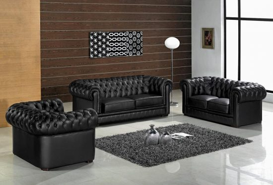 How to use Leather Sofas for a modern style