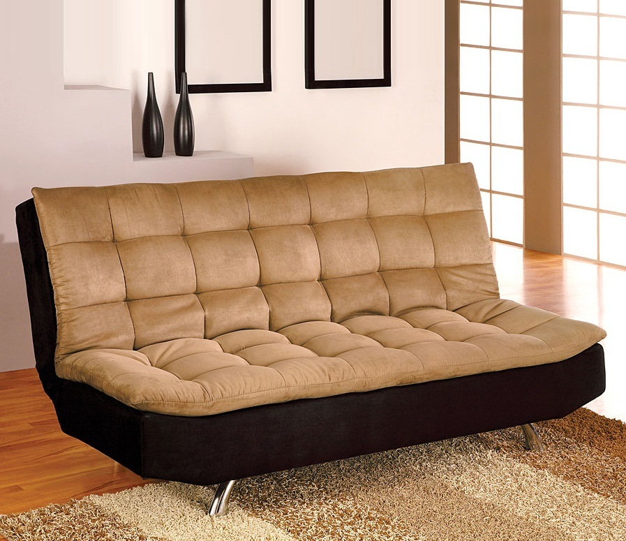 2018 comfortable futon sofa bed ideal choice for modern homes. Black Bedroom Furniture Sets. Home Design Ideas