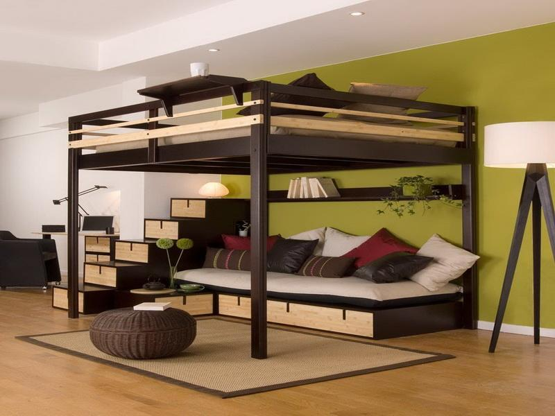 Be smart and get one of 2016 bed with sofa underneath