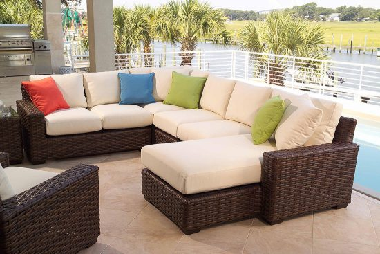 Casual furniture; Comfort, elegance, and charm for indoor/outdoor area