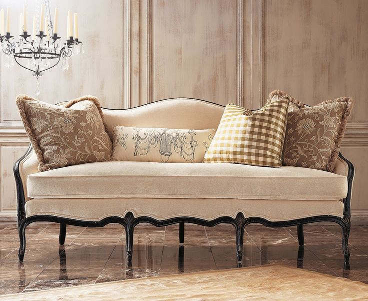 Cabriole Sofa How To Furnish It In Your