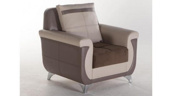 2017 One Seater Leather Sofas; Charm and Elegance in Every Space