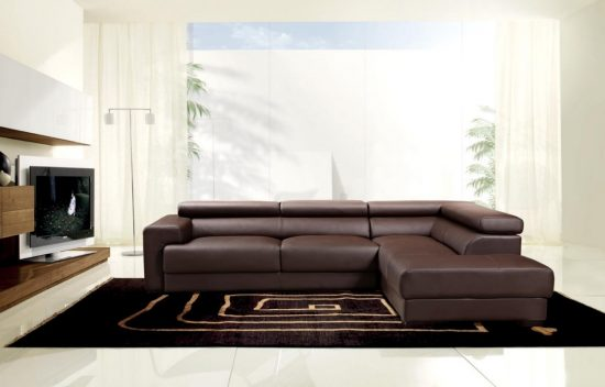 2018 Brown Leather Sofas An Elegant Statement In Your Living Space