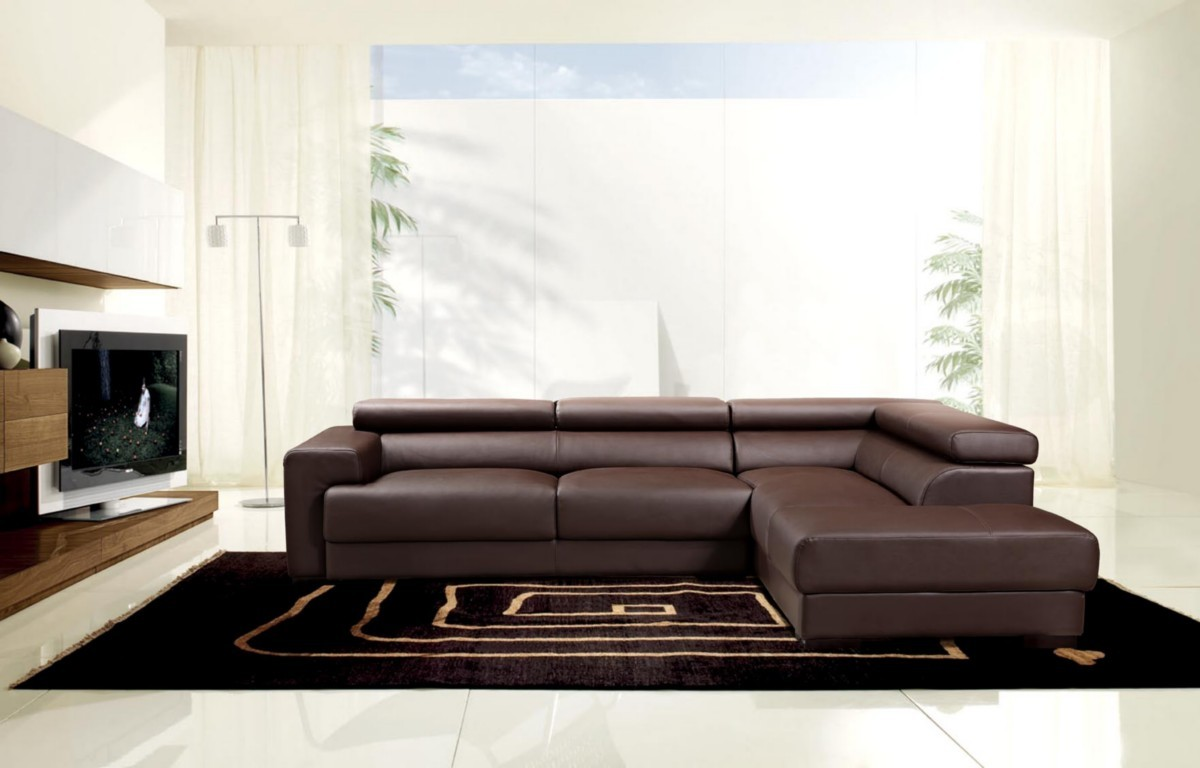 2017 brown leather sofas; an elegant statement in your ...