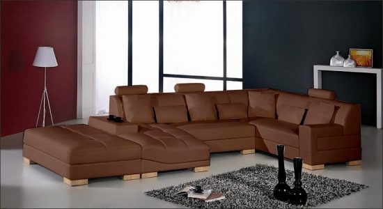 2018 Brown Leather Sofas An Elegant Statement In Your