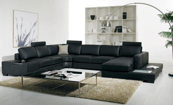 2017 contemporary leather sofas; a perfect masterpiece for modern homes