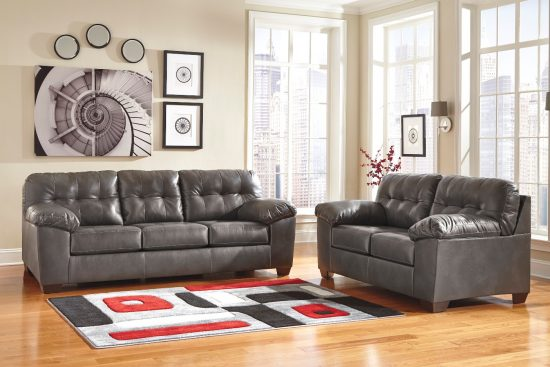 2017 hottest and trendiest Gray Leather Sofas for fashionable living spaces