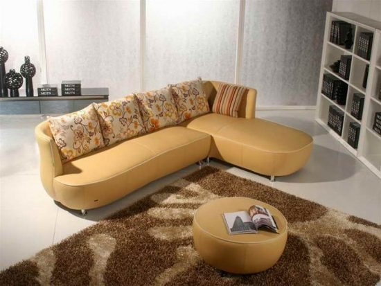 Add A Style To Your Living Area With 2018 Cool Leather Sofas
