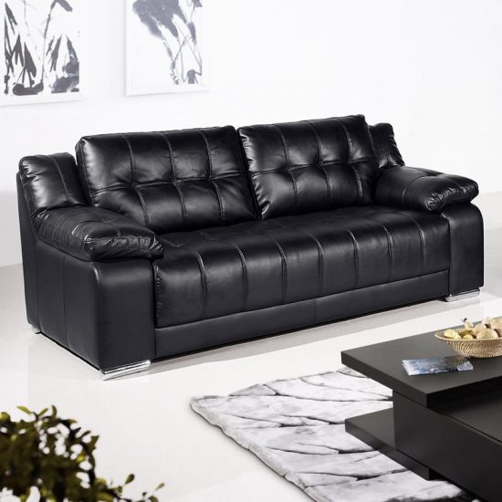 Black Leather Sofa Sale Get Your Dream Affordable