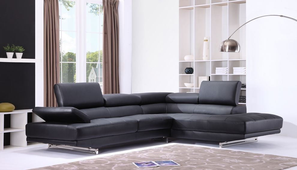 Black Leather Sofa Get Your Dream
