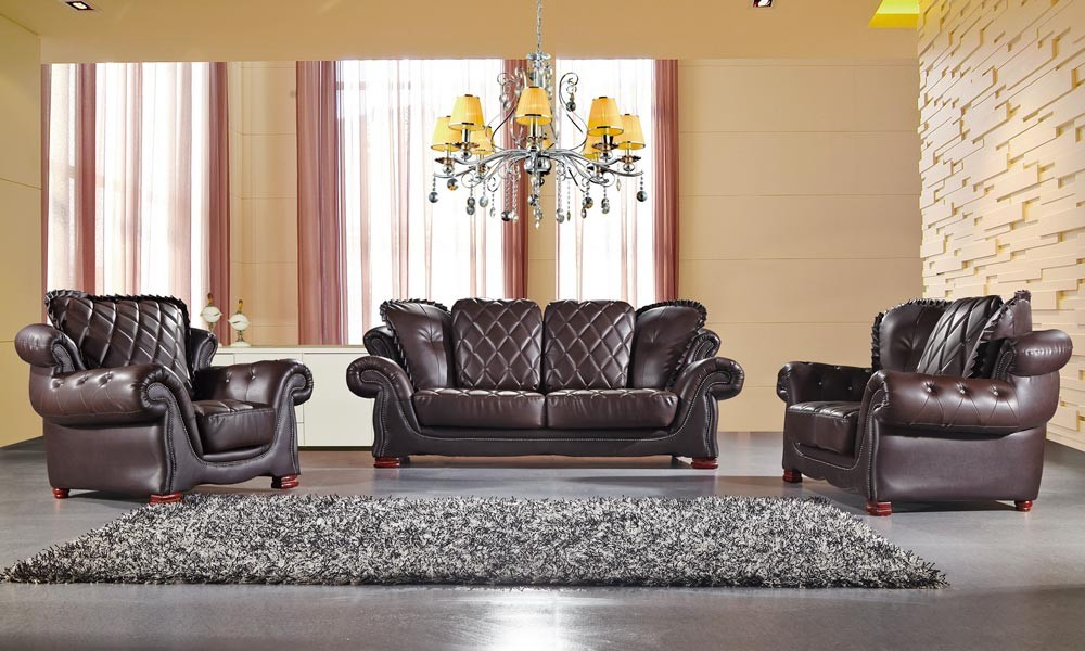 Classic leather sofas for adorable living space with style ...