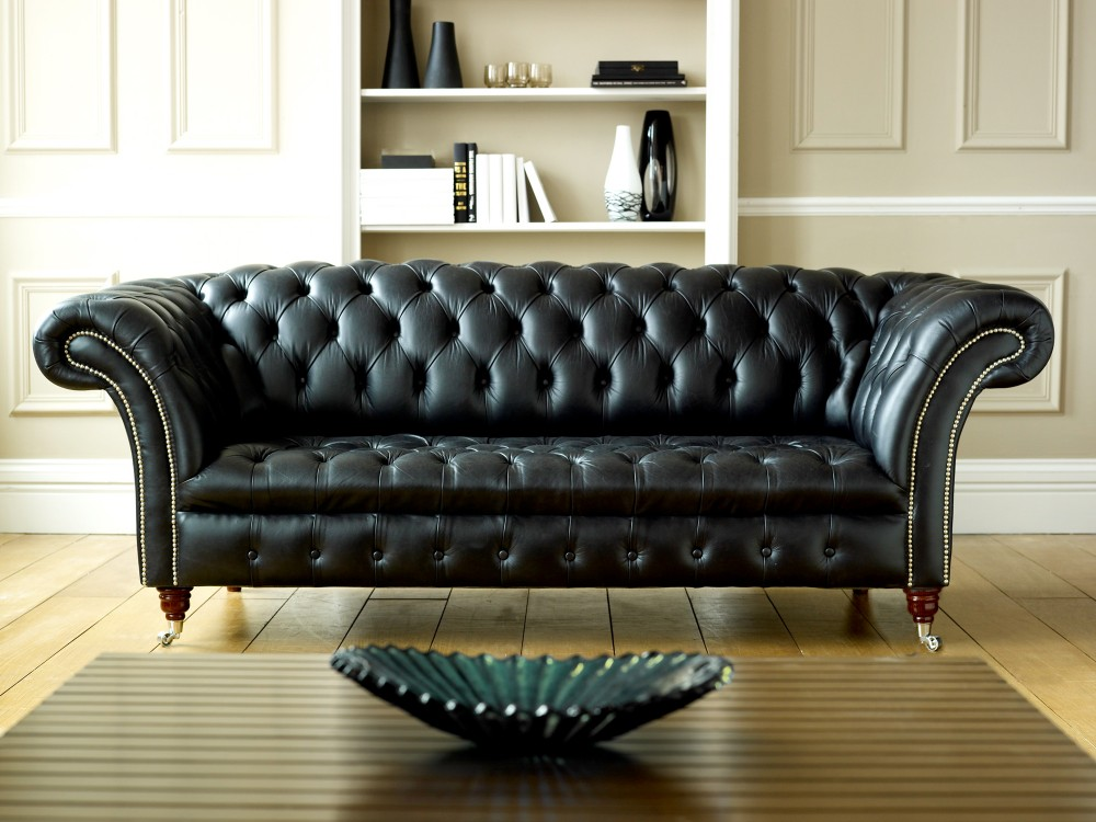 Admirable Distressed Black Leather Sofas For A Timeless Beauty And Caraccident5 Cool Chair Designs And Ideas Caraccident5Info