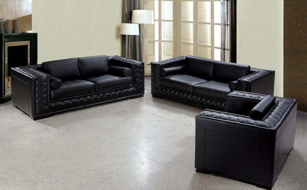 Peachy Leather Sofa Set The Best Option For Comfortable And Theyellowbook Wood Chair Design Ideas Theyellowbookinfo