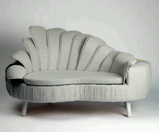 Modern Leather Reclining Couch