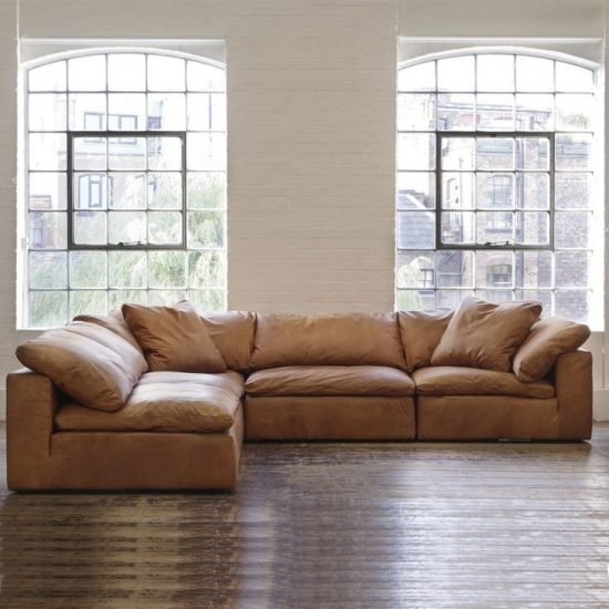 Lounge Designer Furniture: Tan Leather Sofas For Every Living Space Styles In 2018