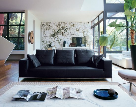 How to decorate your living area around your charming leather sofa!