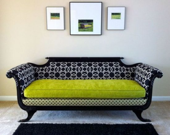 Reupholstering Old Sofas – 4 Ideas to Bare Witness the Rebirth of Your Old Sofa