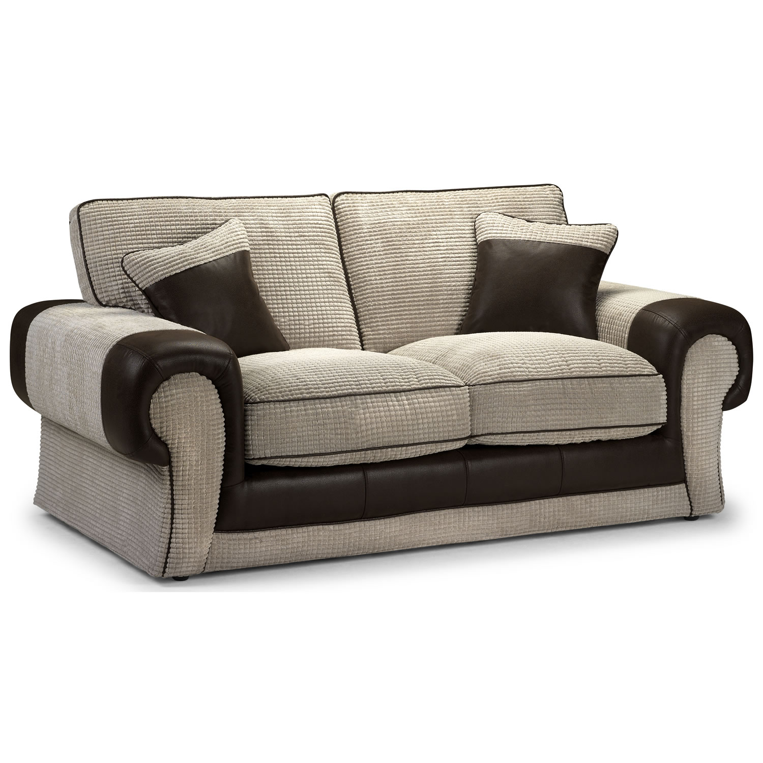 Two-seater sofa a space-saving piece of furniture to add charm and functionality