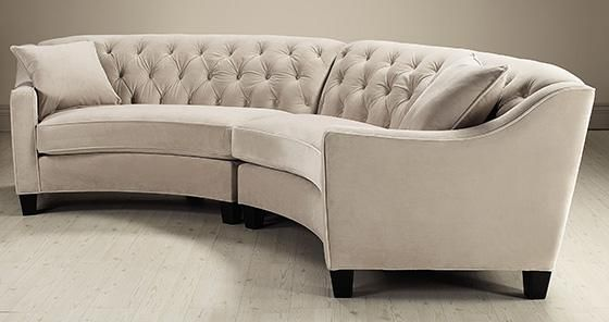 Curved Sofas How To Create A Lovely