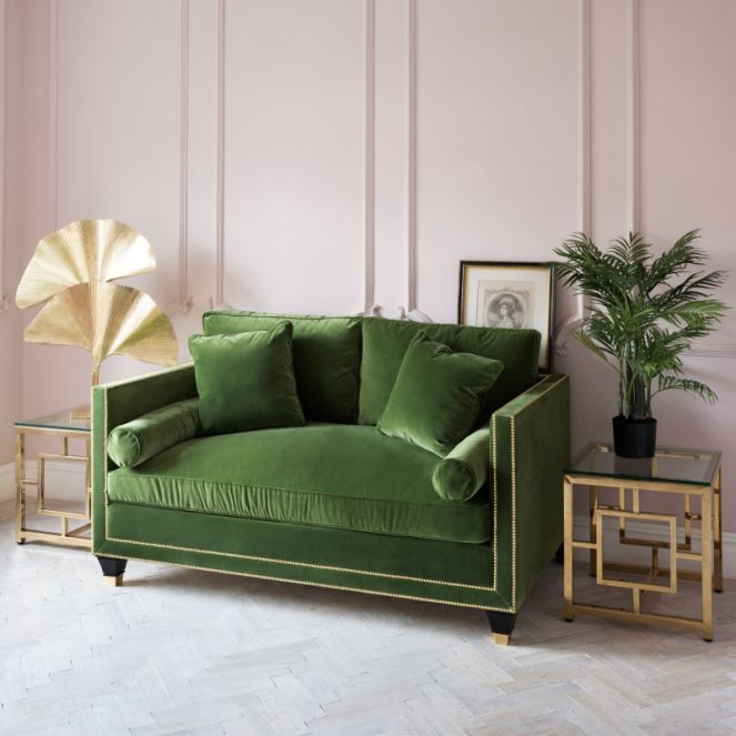 Superbe The Effect Of A Green Sofa Upon Your Living Space