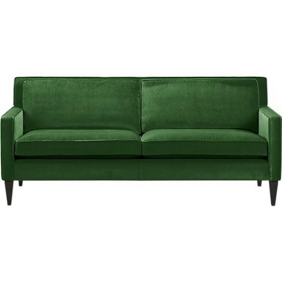The Effect of a Green Sofa upon Your Living Space