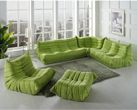 Add comfort and elegance to your home with wide sectional sofas