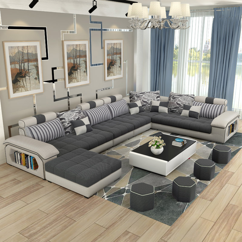 Get A Cozy Living Space With The Comfiest Sectional Sofas In 2017 10