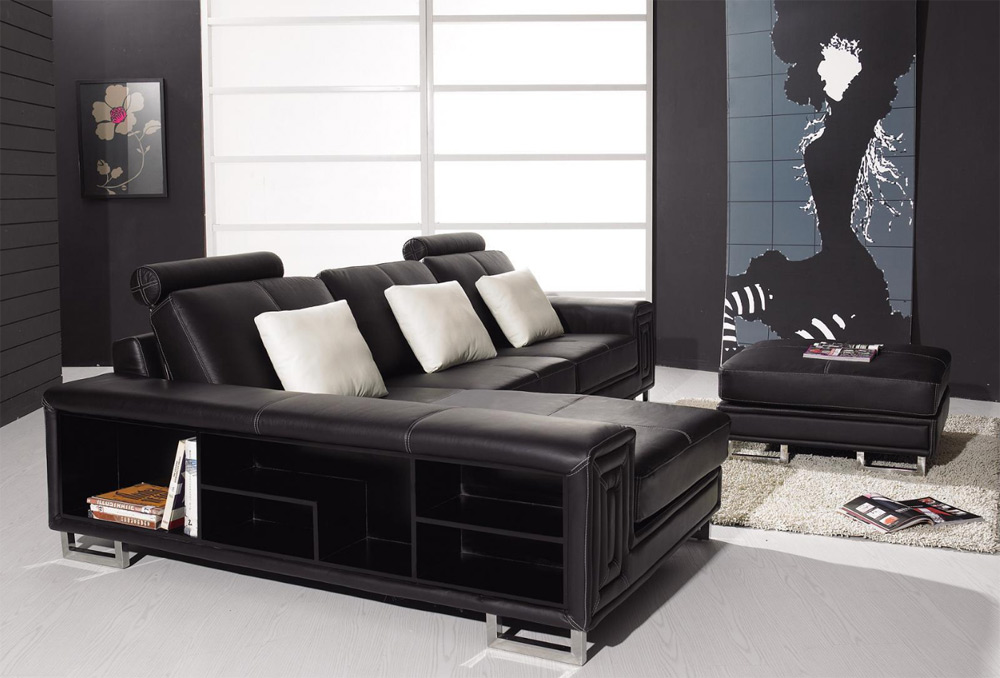 "2018 Best Black Leather Sofa Beds ""Luxury, Elegance, and comfort"""