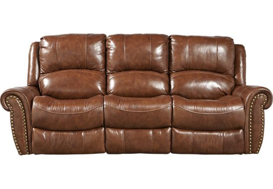 Brown leather reclining sofas Beautiful style with comfort for todays home