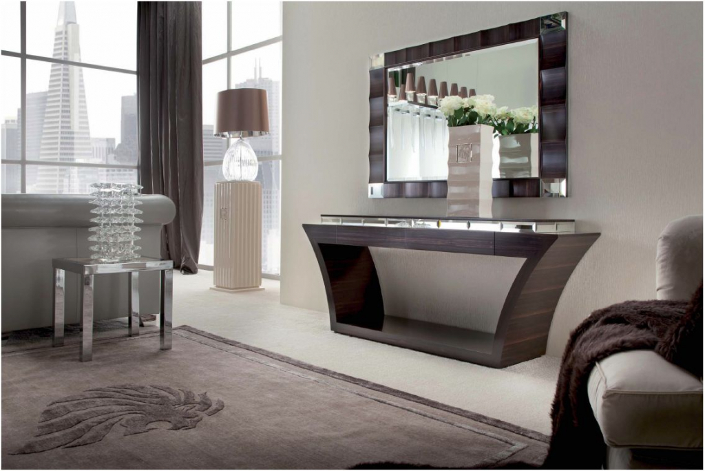 Contemporary console tables - functionality, decorative look and style for today's homes