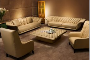 Enjoy the magnificent look, style, and comfort of 2018 leather sofa sets