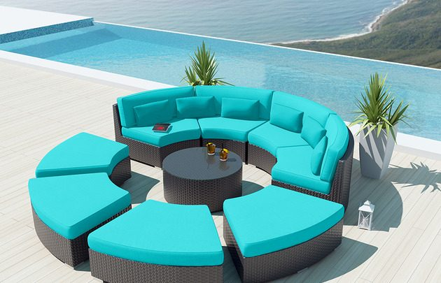 Experience the comfort chilling and relaxation of 2018 outdoor sofa sets