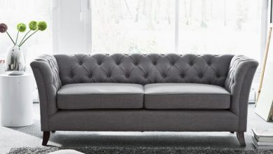 Grey chesterfield sofa; a stunning elegance and hormonally beauty with softness