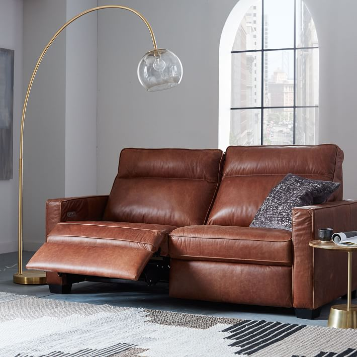 Leather reclining chairs Chic addition with extreme comfort ...