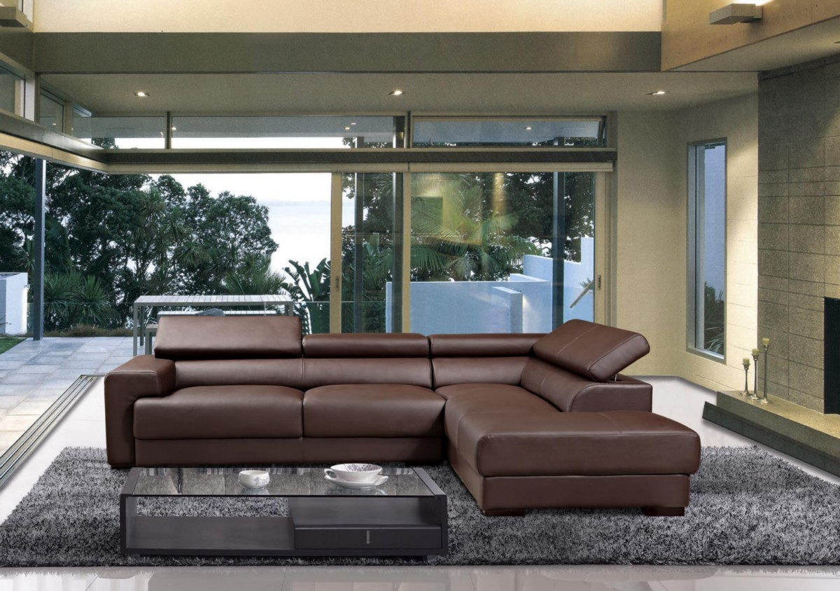 Leather sectional sofas - a stylish comfortable choice for today's living space