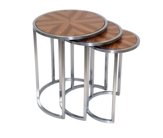 Nesting end tables a great investment with beauty and practicality