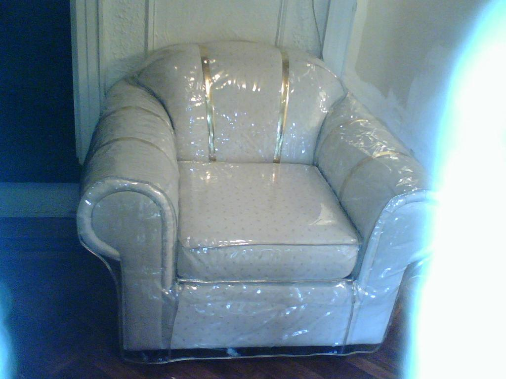Plastic Sofa Covers Are Back For