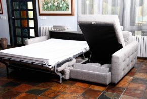 Sofa beds with storage - Compact furniture pieces for today's small living space