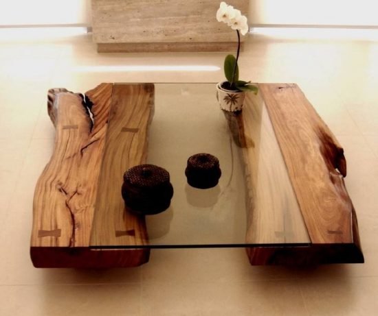 Wood coffee tables give your home a distinguished look with quality and style