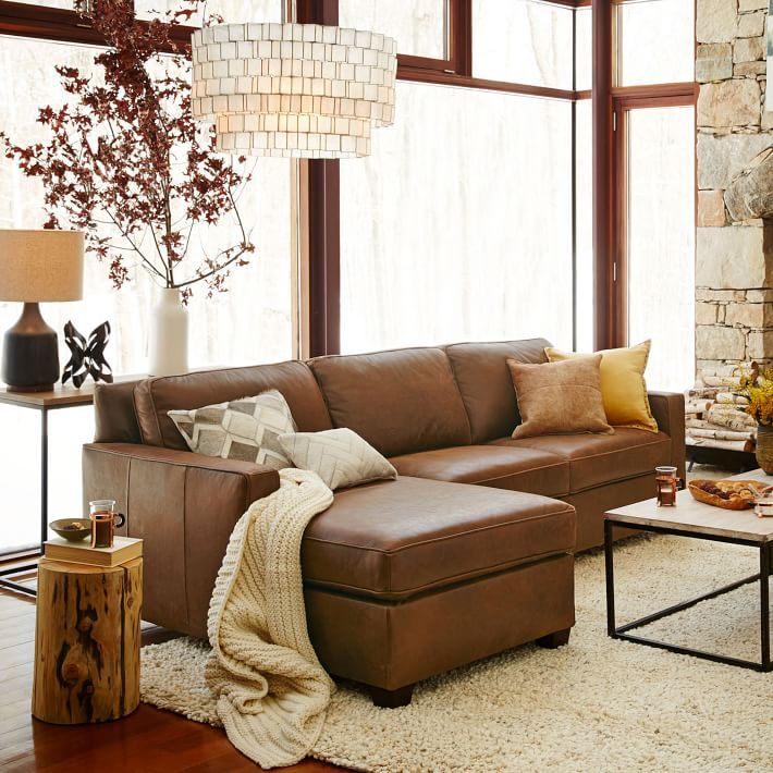 2018 Brown Leather Sofa Beds U2013 What An Incredible Choice For Cozily Elegant  Homes